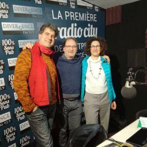 Tonj Acquaviva et Tanzilli -  Vagabondages / musique / 12/02/2018 - Divergence radio Montpellier