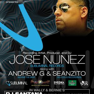 Jose Nunez - CD Promo for 9.2.11 at The Hyde Park Cafe