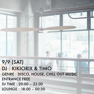 DJ Lounge 0909 DJ KIKIORIX & TIMO