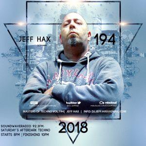 Jeff Hax's Masters Of Techno Vol.194