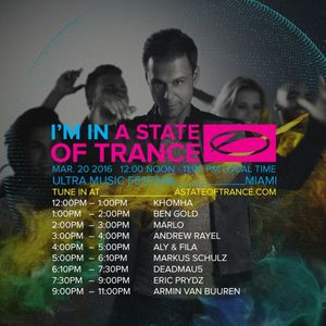 KhoMha - Live @ Ultra Music Festival 2016. A State Of Trance 750 Stage, Miami (20-03-2016)