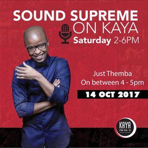 Sound Supreme - JustThemba - 14 October 2017