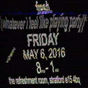 Fresh. live DJ set @ The Refreshment Room 6 May 2016