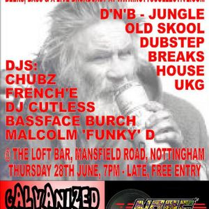 Notts Collective Podcasts #1 Malcolm Funky D (dnb liquid funk hip-hop)