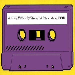 Dj Vince @ at the villa 31-12 1994 part 1