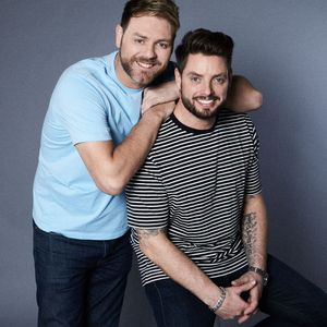 Sticks with Keith Duffy and Brian McFadden
