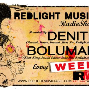 Redlight Music Radioshow 016 // By Denite (English)
