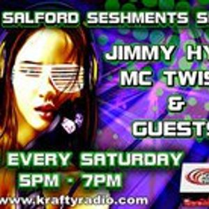 09-10-10 Salford Seshments Live On Krafty Radio DJ Jimmy Hypa  Dj Ganah n Mc Bouncin