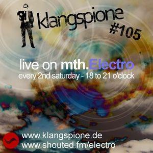 Coloured Clouds, Klangspione #105, 29.10.2011