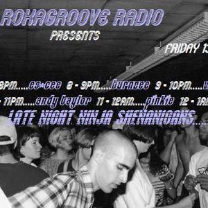 DJ Andy Taylor - Rokagroove Radio - 13.05.16
