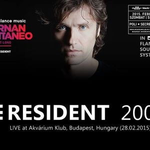 Hernan Cattaneo - Live at  Akvarium, Budapest - 28th February 2015