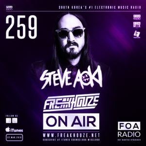 Freakhouze On Air 259 ● Steve Aoki @ Aoki`s House