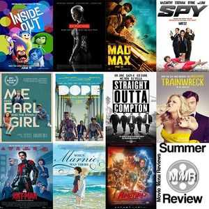 Movie Menu Reviews Summer Blockbusters (2015)