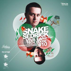 Snake Sedrick aka Son-Tec - Viva La Tech House 10 CD