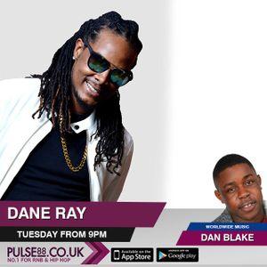 Musicworldwide @danblakevoice 19/09/17 @pulse88radio = Dane Ray,C9,Herbz Interview plus music