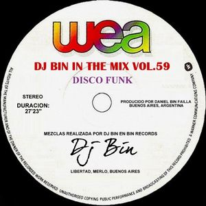 Dj Bin - In The Mix Vol.59