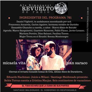 REVUELTO DE RADIO - PROGRAMA N° 781