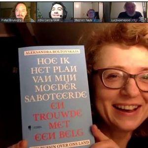 """Wat maakt Belgische mannen zo aantrekkelijk? Aleksandra """"Sasja"""" Boltovskaja legt hetuit in onze show"""