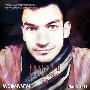 Franzis-D - Auditory Sense 058 @ InsomniaFm - Mar 13, 2014