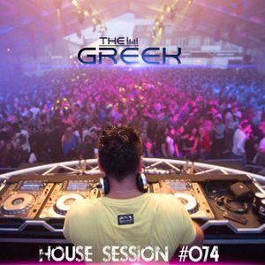 DJ-THE GREEK @ HOUSE SESSION #074