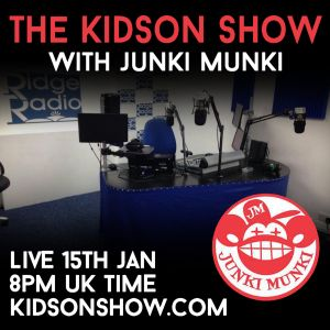Kidson Show ft Junki Munki  on Ridge Radio