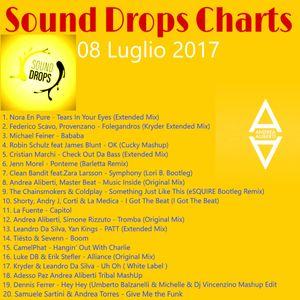 SOUND DROPS CHARTS, Sab 08 Lug 2017