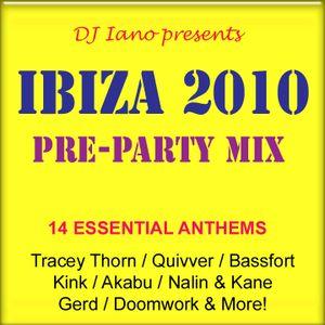 Ibiza 2010: Pre-Party Mix