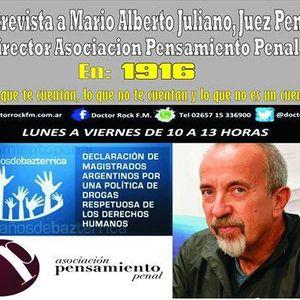 Audio-Mario ALberto Juliano-Juez Penal de Necochea-Director Asociacion Pensamiento Penal