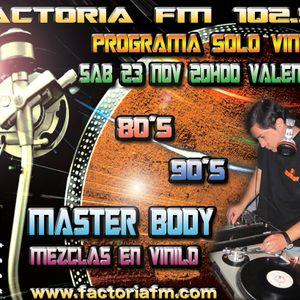 SESSION FACTORIAFM VALENCIA DJ MASTER BODY