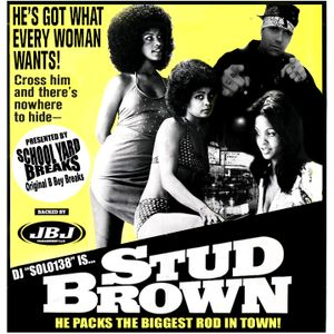 SOLO138-STUD BROWN