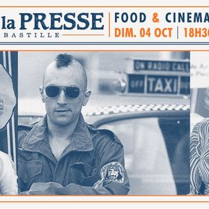 Taxi Driver by ATN (Food & Cinema S02E01) @ Cafe de La Presse (04-10-15)