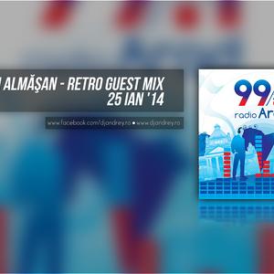 Andrei Almasan - Retro Guest Mix @ Radio Arad (25 Ian '14)