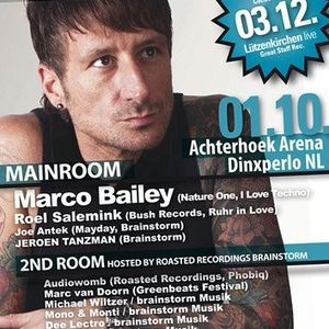 """Friday Techno Session """"the Brainstorm Warmup"""" september2011"""