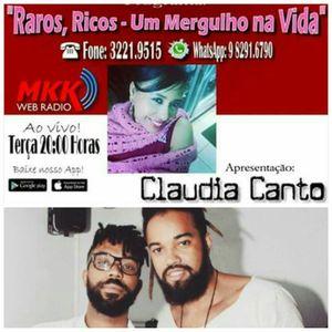 Programa Raros Ricos Um Mergulho na Vida 14.11.2017 Claudia Canto e Robson Matos
