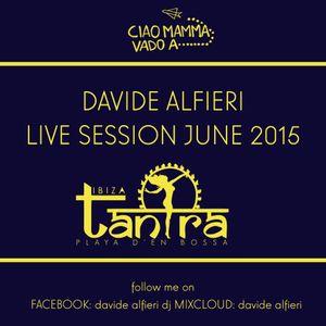 Davide Alfieri Live @ Tantra Ibiza 27-06-2015