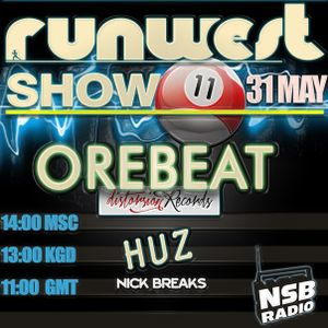 HUZ - NSB RADIO GUEST MIX MAY'14 @ RUNWEST SHOW