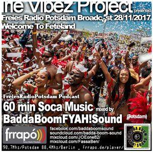 Irie Vibez Project Broadcast 28_11_17 Feteland