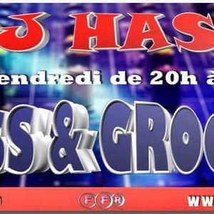 Podcast de l'émission HASS&GROOVE du Vendredi 23 Juin 2017 présenté par DJHASS Sur Funk France Radio