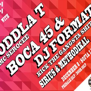 BOCA 45 vs DJ FORMAT promo mix