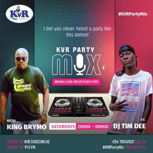 #KVRPartyMix - DJ Tim Dee (Ateso Set) with King Brymo