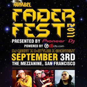 FADER FEST 2011 - DJ Vajra
