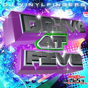 DJ Vinyl Fingers - Rhythm Drive At Five Aired 5-22-15