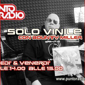 Bounty Miller Verrina con SOLO VINILE 33 su Punto Radio Bologna