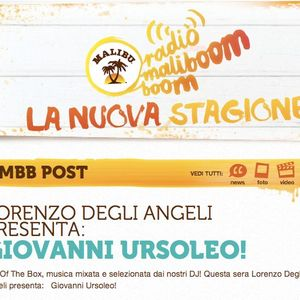 """Dj Set for Radio Maliboom Boom in """"Out Of The Box"""" - Wed 13/06/2012"""
