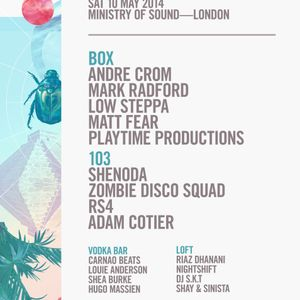 Andre Crom  - Live At Audio Rehab, Ministry Of Sound (London) - 10-May-2014