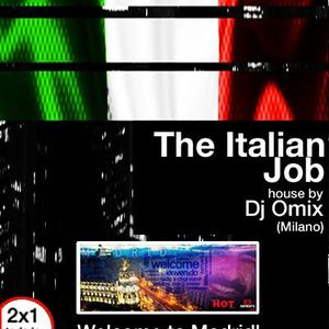 Dj Omix The Italian Job session Enfrente mini club madrid 23-03-2016 Part 2