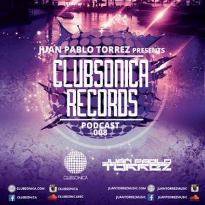 Juan Pablo Torrez - Clubsonica Records Podcast Episode 008