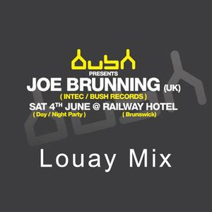 Louay @ Darkbeat & BushRecords Present Joe Brunning
