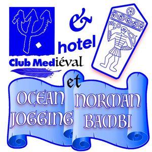 CLUB MEDIEVAL INVITE OCEAN JOGGING QUI INVITE NORMAN BAMBI @ HOTEL RADIO PARIS