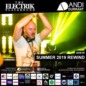 Electrik Playground 30/8/19 - Summer 2019 Rewind